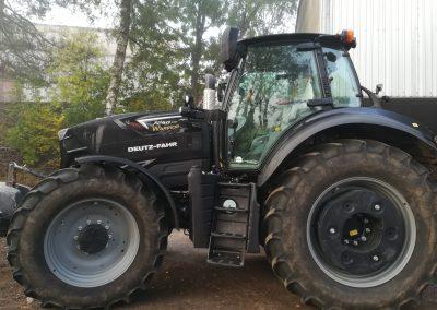 Předání traktoru Deutz-Fahr 7250 WARRIOR - Zetkomservis s.r.o.