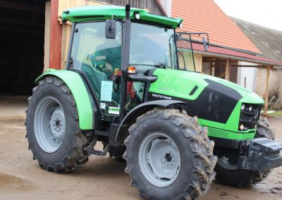 Předání traktoru Deutz-Fahr 5105.4 G - Zetkomservis s.r.o.