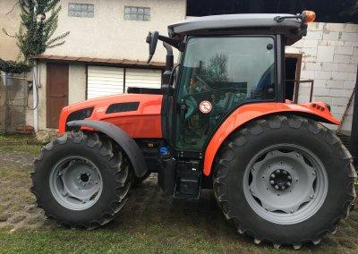 Předání traktoru SAME EXPLORER 100