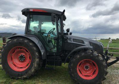 Předání traktoru SAME EXPLORER 110 ve speciální šedé edici. Novým majitelem se stal náš dlouholetý zákazník, soukromý zemědělec od Ledče nad Sázavou