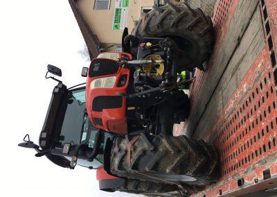 prodej staršího traktoru SAME VIRTUS 120 a jeho odvoz k novému majiteli
